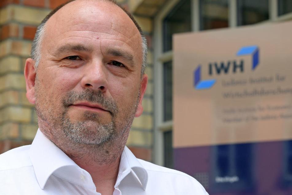 IWH-Chef Reint E. Gropp hat die Produktivität von Firmen in Deutschland getestet