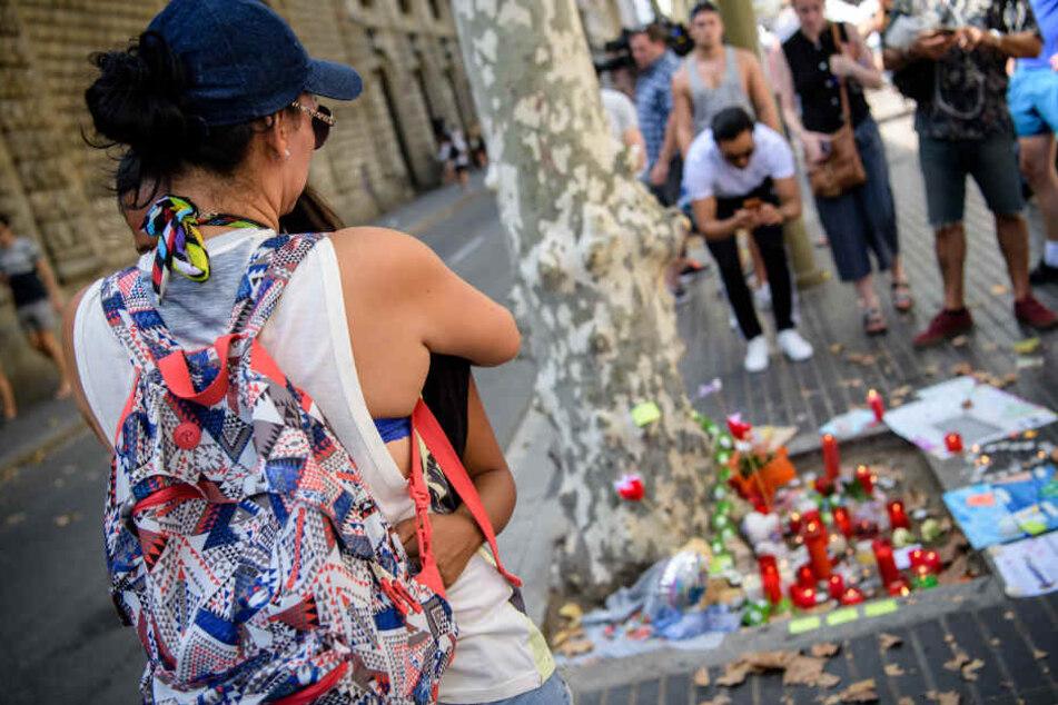 """Bei dem Terroranschlag auf der Promenade """"Las Ramblas"""" in Barcelona wurden am Donnerstag mehrere Menschen getötet und viele verletzt."""