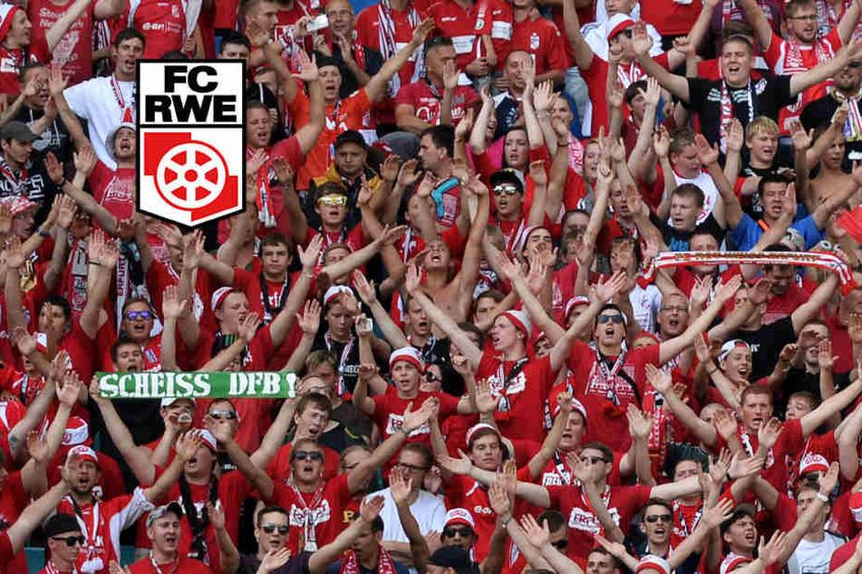 Die Anhänger von RWE können nun auch für ihren Verein spenden. (Archivbild)
