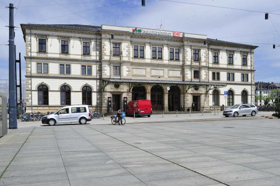 Die Tat ereignete sich in einer Fahrzeugverleih-Firma am Chemnitzer Hauptbahnhof. (Symbolfoto)