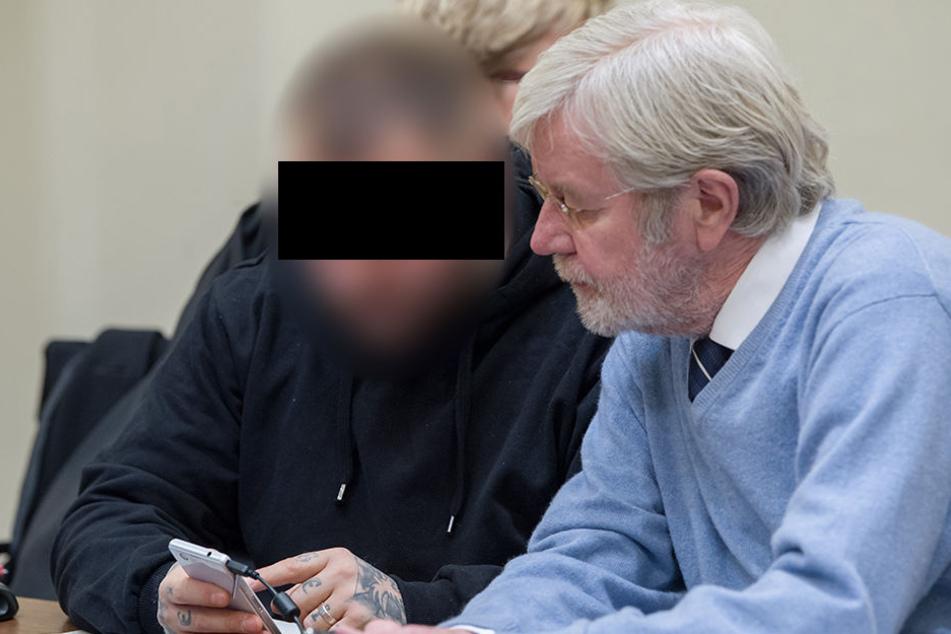 Am Mittwochabend wurde Haftbefehl gegen André E. (l.) erlassen. (Archivbild)