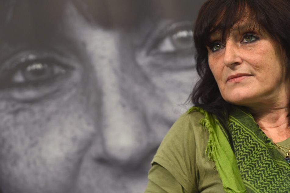 """Christiane Felscherinow (56) schrieb """"Wir Kinder vom Bahnhof Zoo"""" (1978)."""