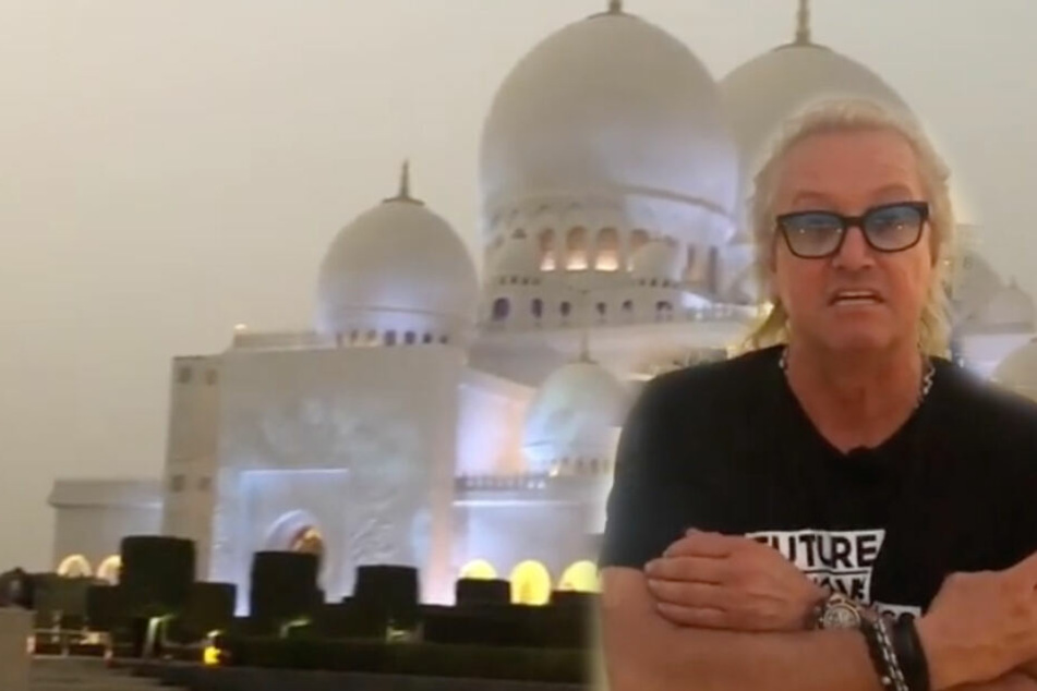 """Die Geissens: Provokation in Abu Dhabi: Robert Geiss nennt islamischen Gebetsruf """"Live-Musik"""""""