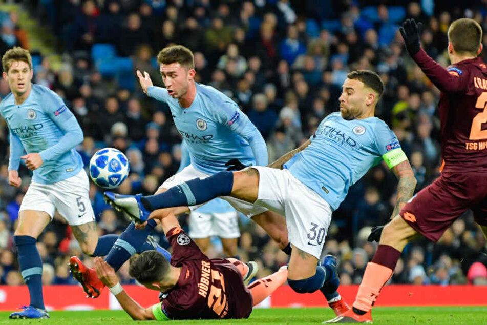 Am 6. Spieltag der Champions-League-Gruppenphase verlor die TSG Hoffenheim 1:2 gegen Manchester City.