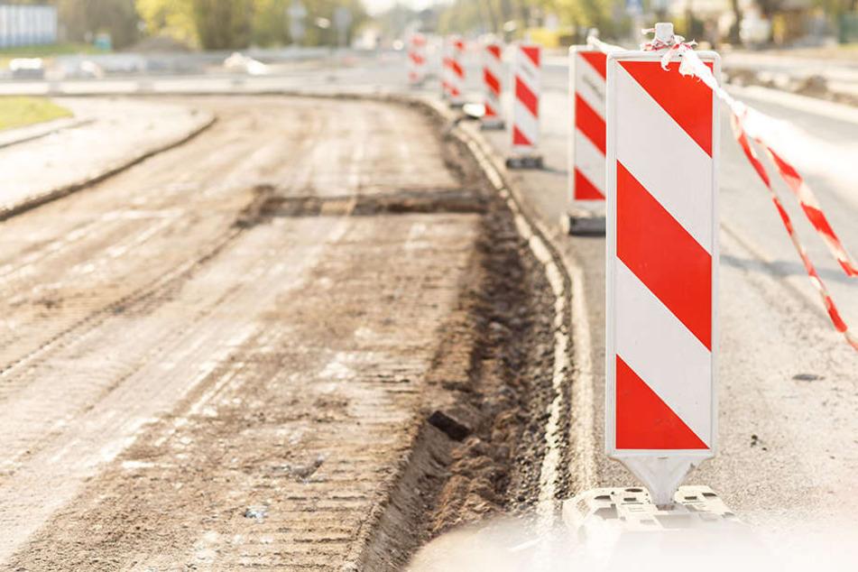 B101 dicht! Bauarbeiten an Heinzebank-Kreuzung