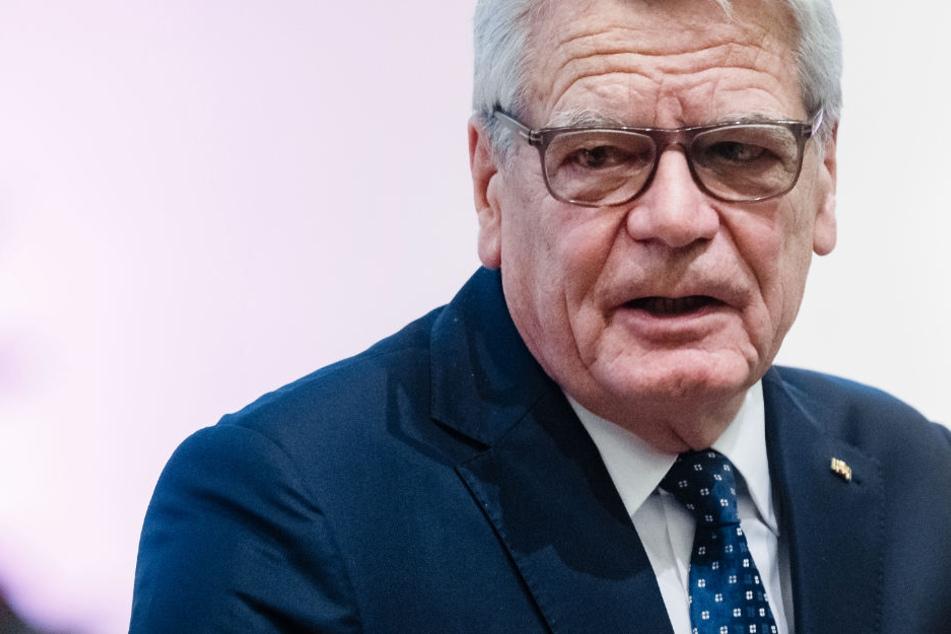 """Alt-Bundespräsident Joachim Gauck (Archivfoto) warnte vor einer neuen """"Klassengesellschaft"""", die sich herausgebildet habe."""