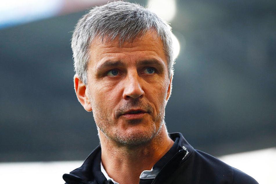 Hansa-Coach Jens Härtel musste sich mit einem Remis begnügen.