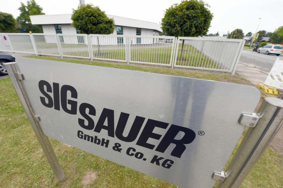 Die Zentrale der Waffenfirma Sig Sauer steht in Eckernförde.