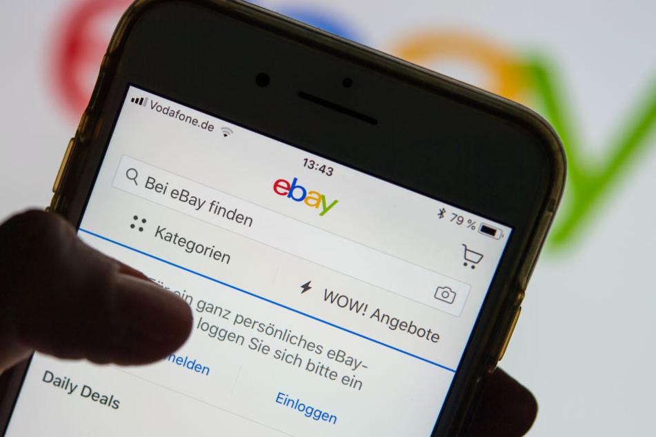 Ein Mann war auf Ebay für kurze Zeit günstig zu haben. (Symbolbild)