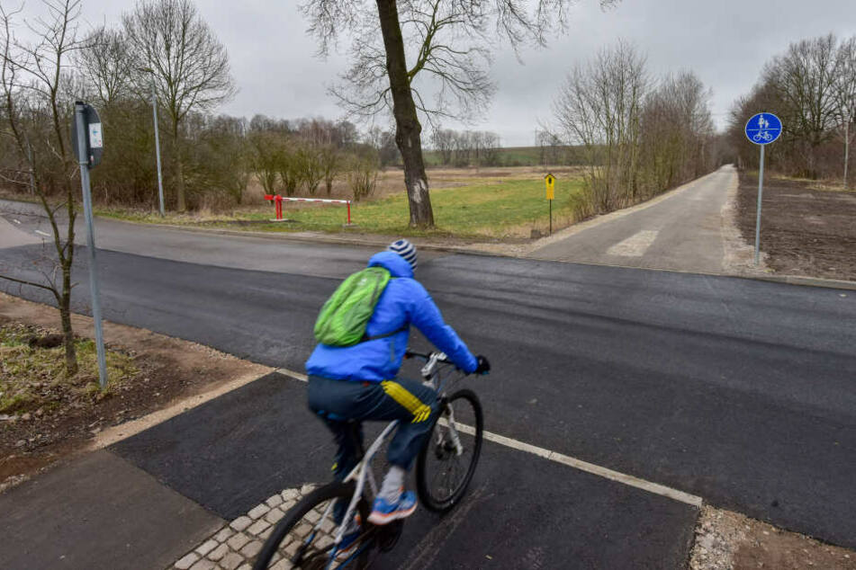 Für touristische Radwege wie durchs Chemnitztal wird mehr Geld ausgegeben als für Radwege in der Innenstadt.