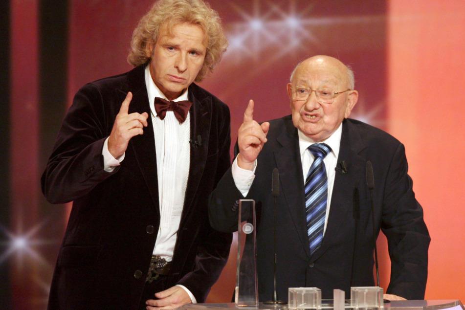 Oktober 2008: Marcel Reich-Ranicki erhält den Ehrenpreis für sein Lebenswerk, will den aber nicht annehmen.
