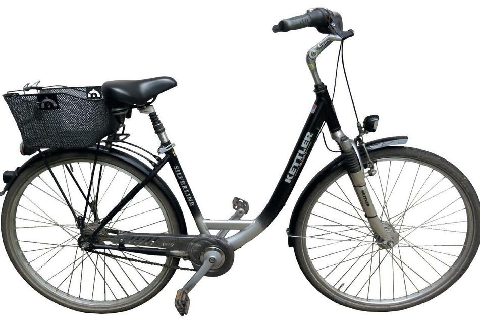 So sah das Fahrrad aus, mit dem S. vor seinem Verschwinden unterwegs war.