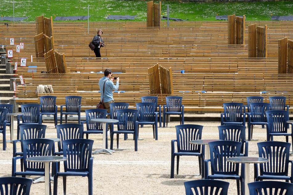 Freiluftkinos dürfen in Berlin ab Mittwoch unter Auflagen öffnen.