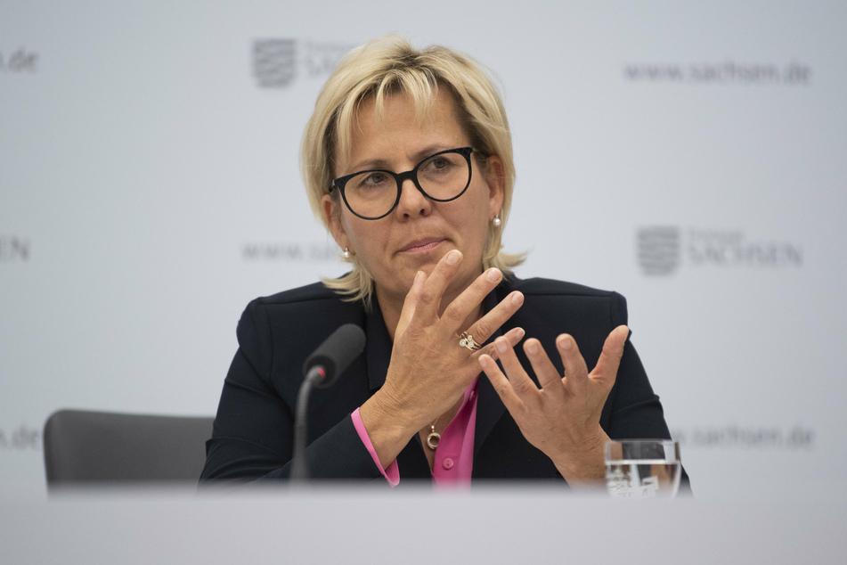 Sachsens Kulturministerin Barbara Klepsch (55, CDU) freute sich über die Entscheidung zur Kulturhauptstadt.