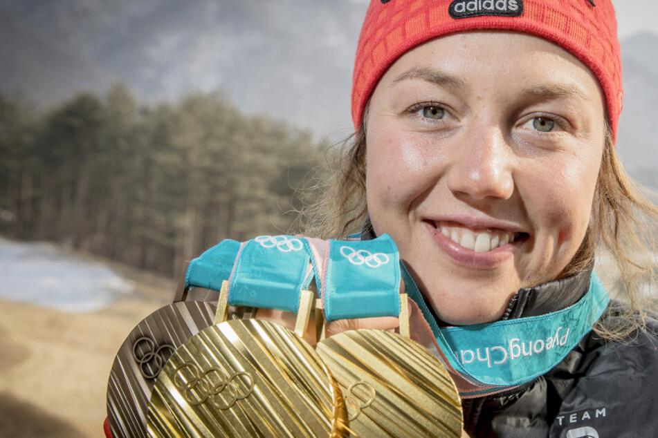 Trainerkarriere? Zweimalige Olympiasiegerin Laura Dahlmeier blickt nach vorn
