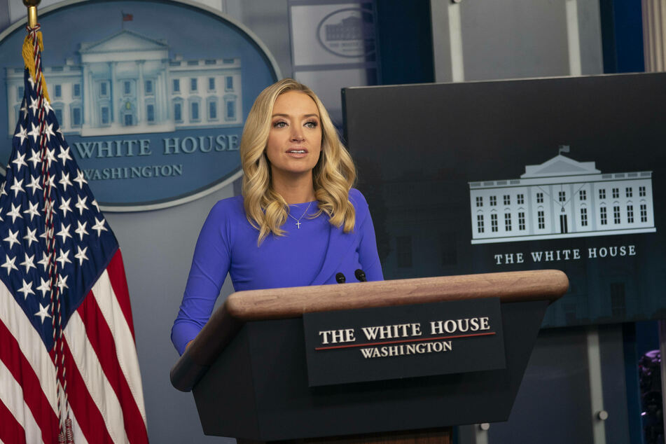 White House Press Secretary Kayleigh McEnany would not say whether Trump would finally accept the election results.