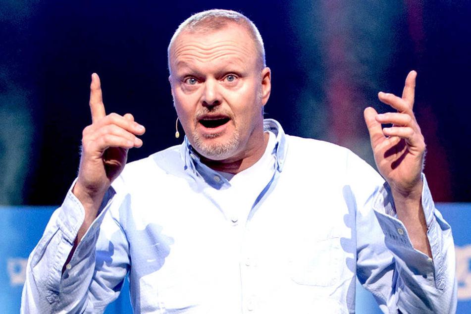 Stefan Raab feiert sein TV-Comeback, aber er selbst ist nicht zu sehen