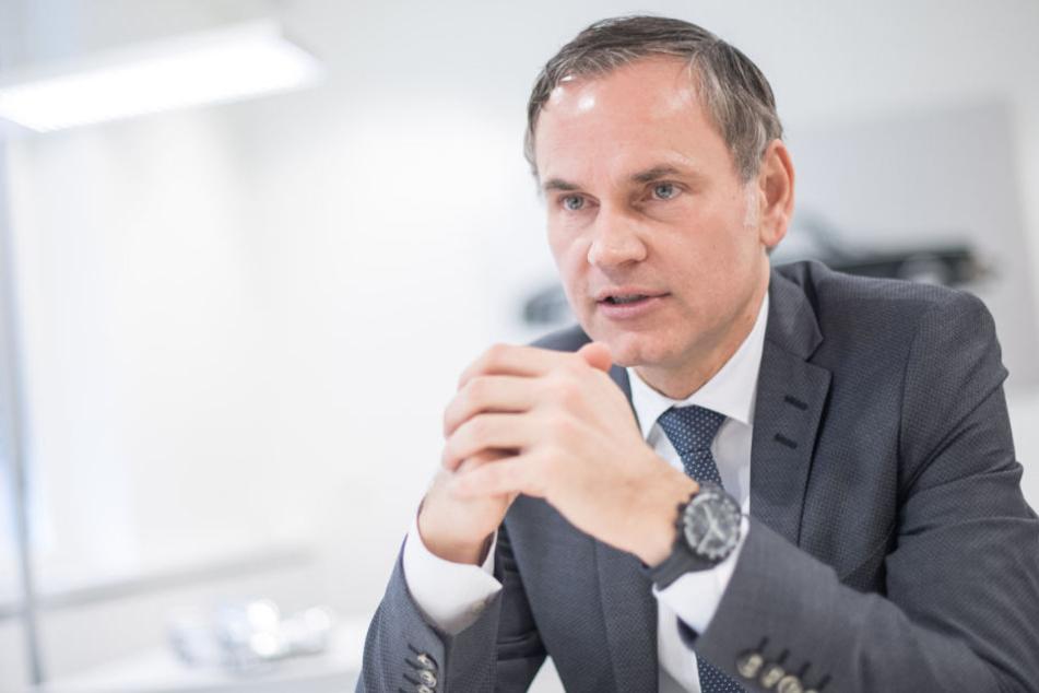 Wandte sich in einem Brief an die Porsche-Beschäftigten: Vorstandschef Oliver Blume.