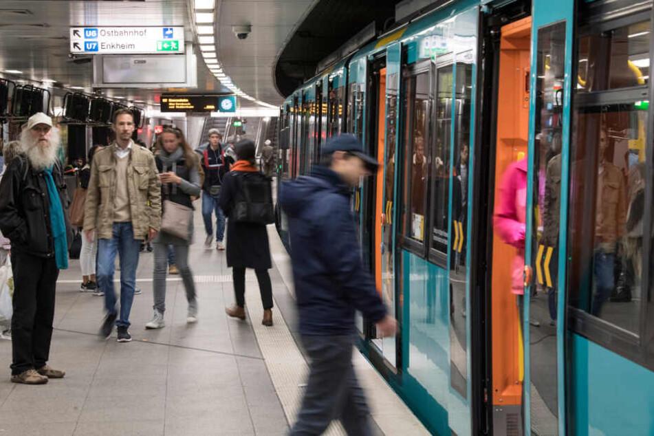 U4 und U5 in Frankfurt am Wochenende unterbrochen
