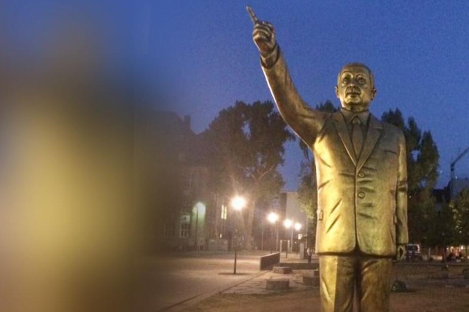 Theater-Intendant verteidigt Aufstellen von Erdogan-Statue