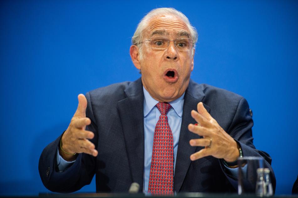 Angel Gurría, Generalsekretär OECD.