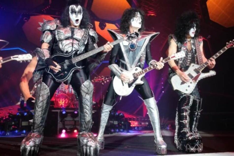 KISS steht seit 1974 auf der Bühne, wenn auch mit wechselnder Besetzung.