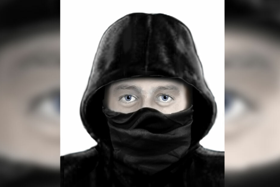 Das Phantombild der Polizei: Dem Opfer waren insbesondere die dunklen Augenringe im Gedächtnis geblieben.
