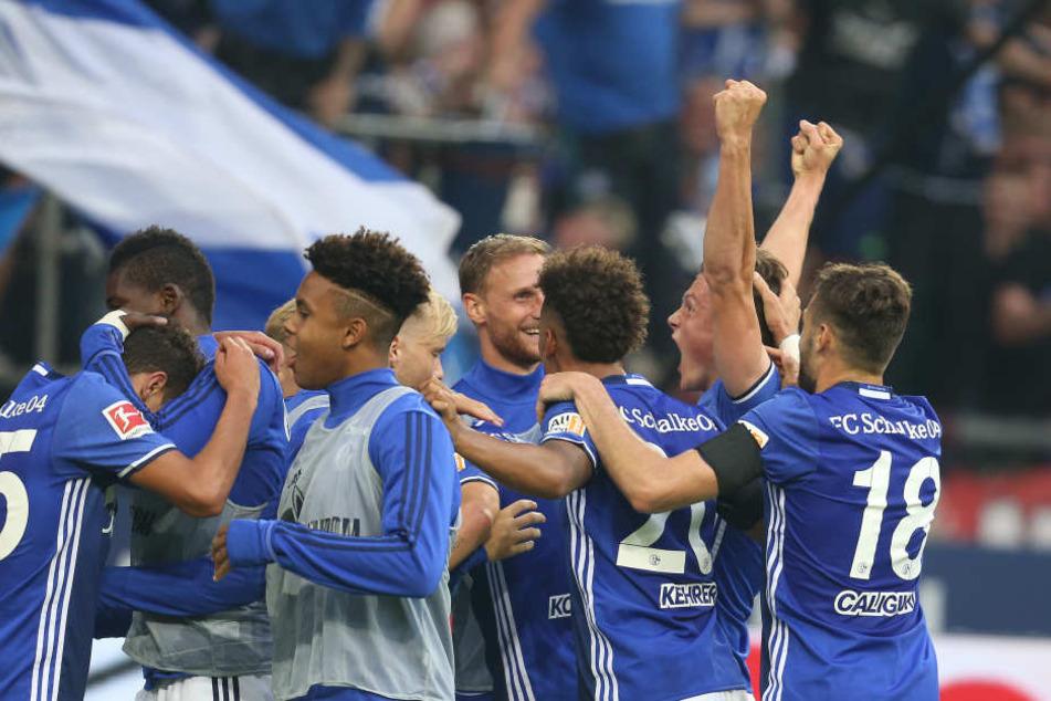 Am 1. Spieltag der aktuellen Saison hatten nur die Schalker Grund zur Freude: Sie gewannen gegen RB Leipzig 2:0.