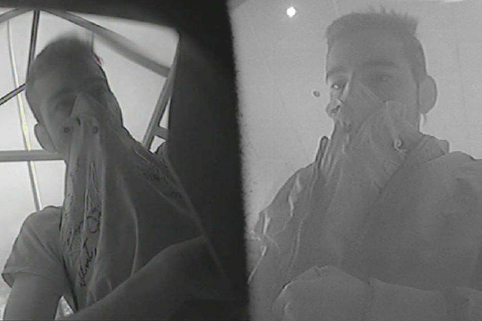 Wer kennt diesen jungen Mann auf den Bildern der Überwachungskamera?