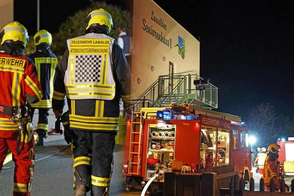 Großeinsatz bei Brand in Seniorenheim: Feuerwehr will Evakuierung einleiten und dann das...