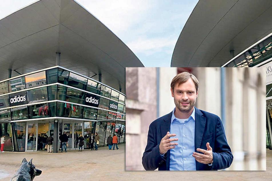Würde mit einem Design Outlet Center gerne auch das Stadtsäckel füllen: CDU-Stadtrat Alexander Dierks (28).