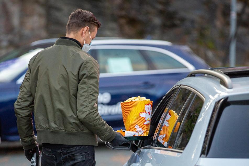 Auch auf Popcorn, Eis und Getränke müssen die Besucher nicht verzichten.