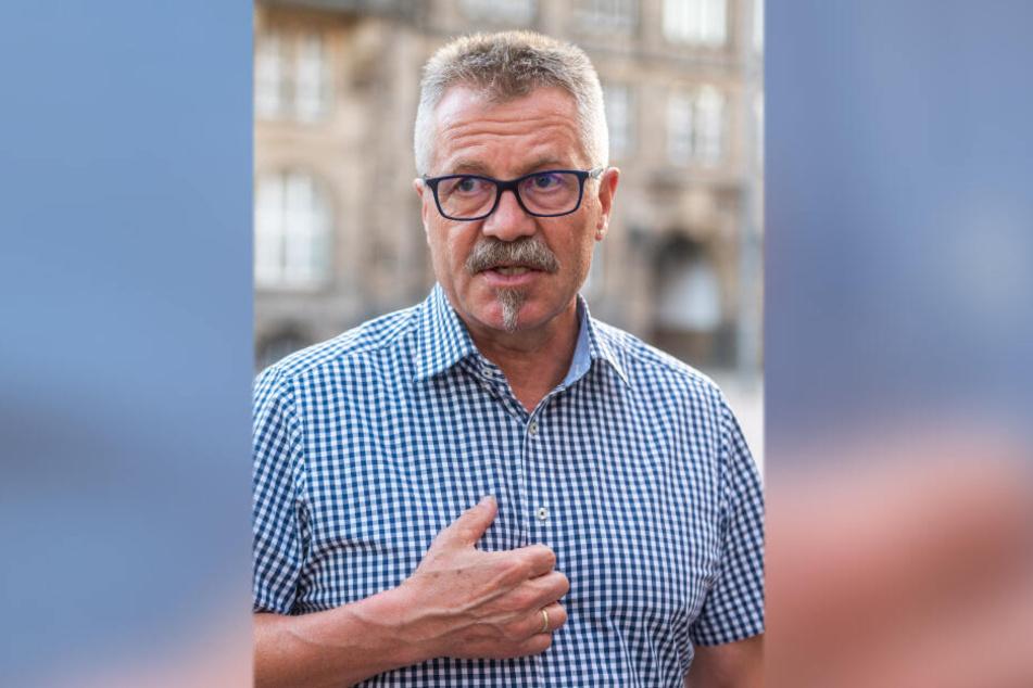 Schmetterte die Ratsanfrage ab: Ordnungsbürgermeister Miko Runkel (58, parteilos).