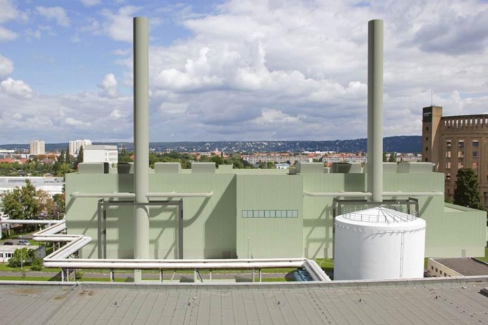 So soll das neue Heizkraftwerk in Reick aussehen.