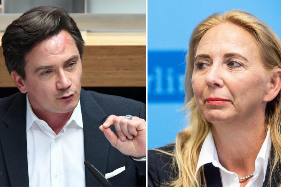 Marcel Luthe fordert von Polizeipräsidentin Barbara Slowik eine schnelle Aufklärung.