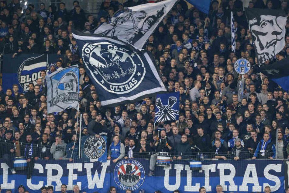 Die Fans vom DSC Arminia Bielefeld sind gefragt.