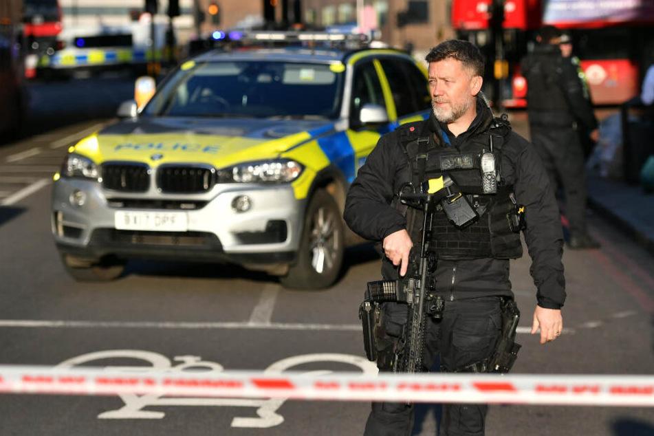 Terrorangriff: Polizei erschießt Täter auf London Bridge!