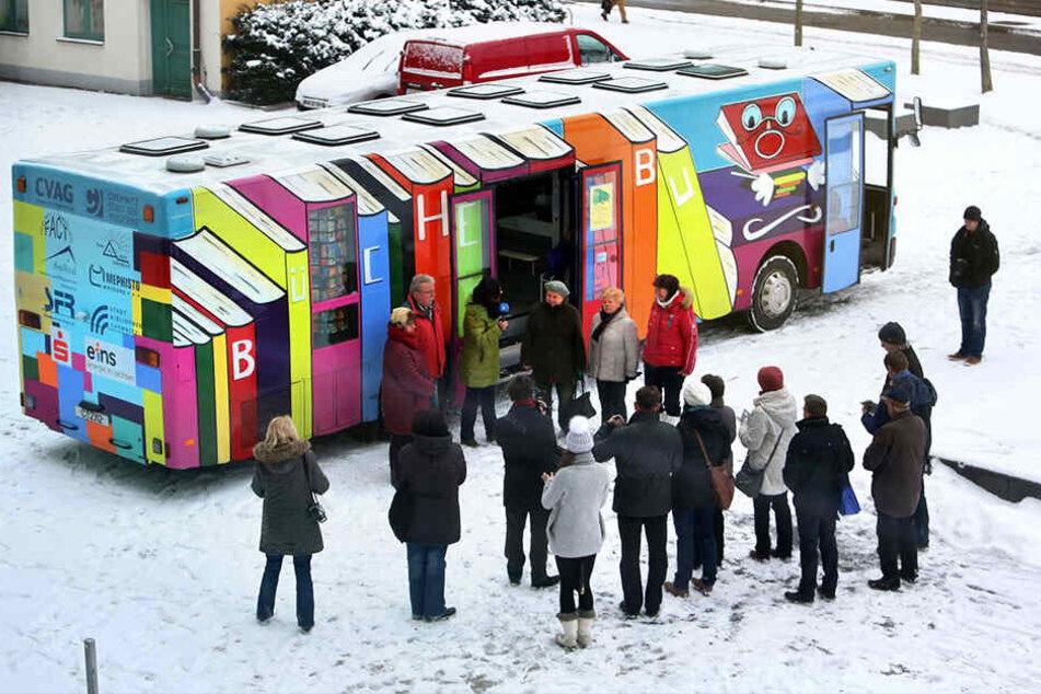 Problemkind Bücherbus: Siebenmal kam es allein im Januar zu Ausfällen. Im nächsten Doppelhaushalt soll ein neuer Bus angeschafft werden.