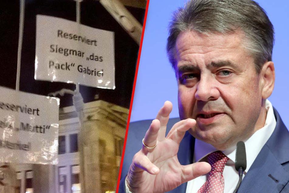 """Gabriel gewinnt vor Gericht: Entscheidung im Streit um """"Pegida-Galgen""""!"""