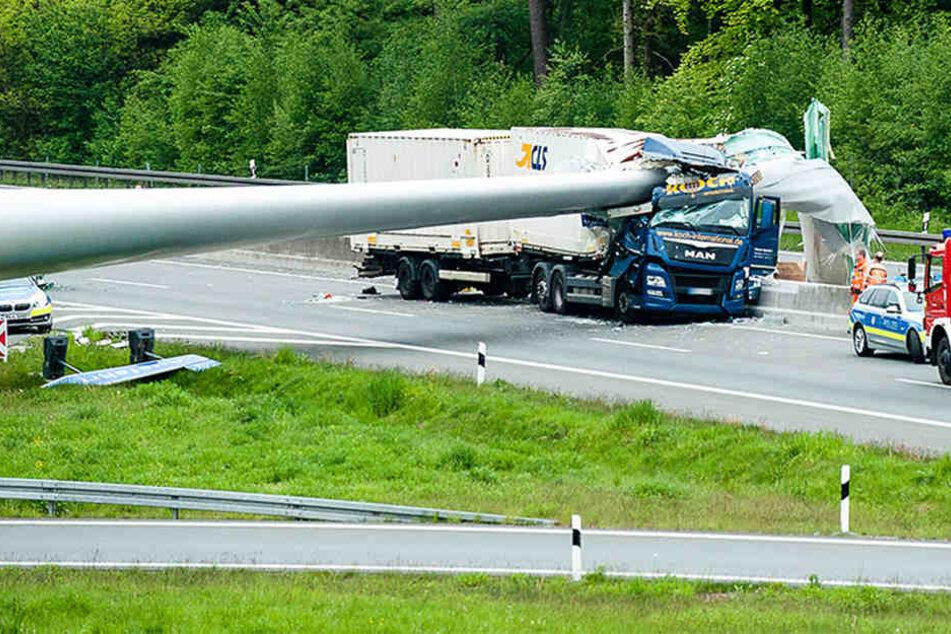 Nach schwerem Windradunfall: So schildert der Verursacher den Crash