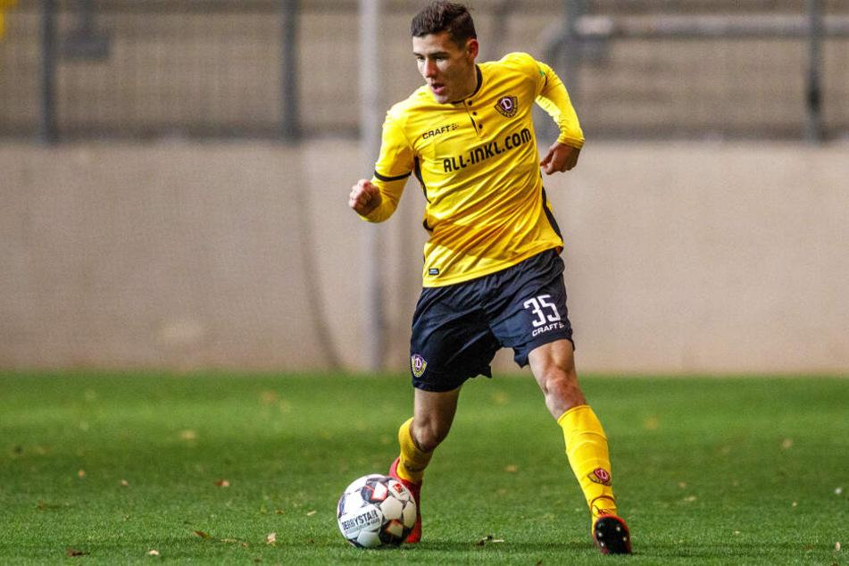 Marius Hauptmann wechselt von Dynamo Dresden zum FSV Zwickau.