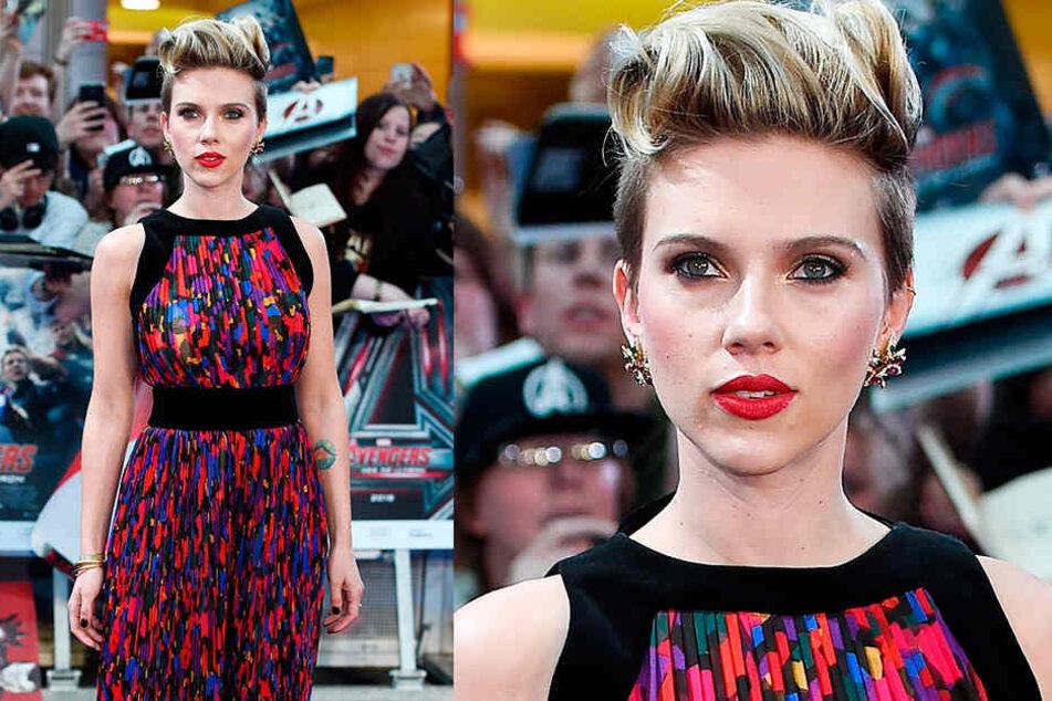 """Strahlende Schönheit: Hollywood-Star Scarlett Johansson (33) spielt in der Kriegssatire """"Jojo Rabbit"""" die Mutter des Titelhelden."""