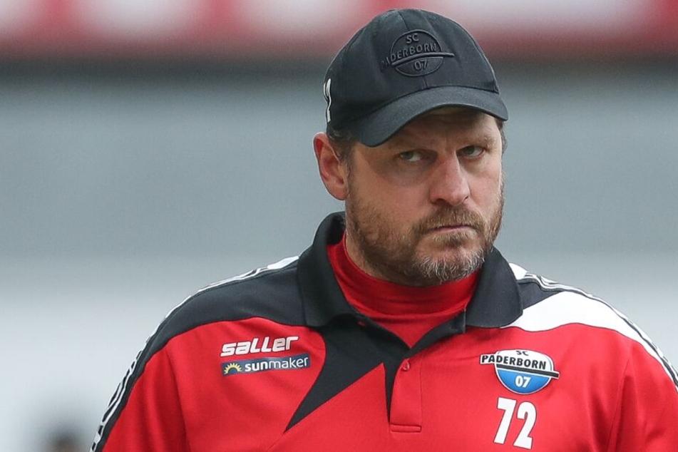 SCP-Trainer Steffen Baumgart erwartet ein enges Spiel.