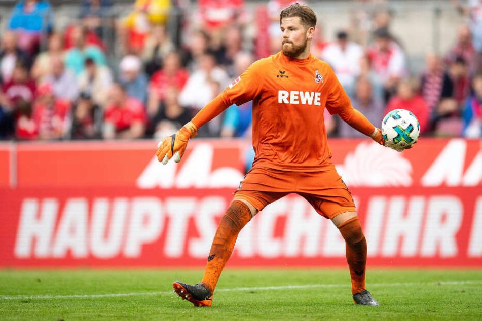 Timo Horn (26) ist seit 2012 Stammtorhüter des 1. FC Köln.