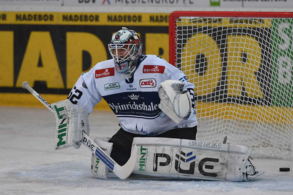 Kevin Nastiuk brillierte erneut beim Eislöwen-Sieg. (Archivbild)