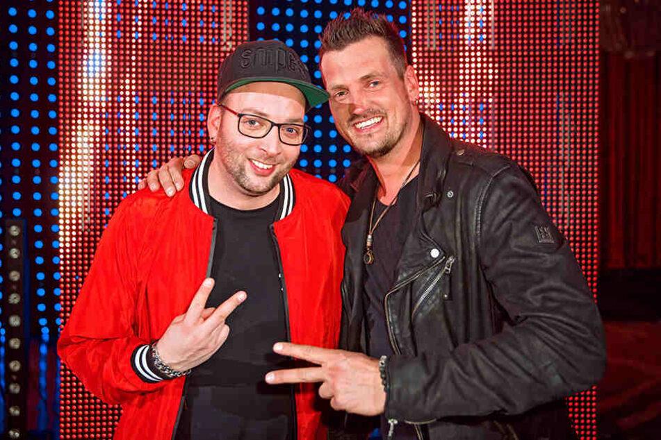 """Zur Eröffnung der neuen Achterbahn """"Dynamite"""" wird das DJ-Duo Stereoact gemeinsam mit Ministerpräsident Kretschmer eine Fahrt wagen."""