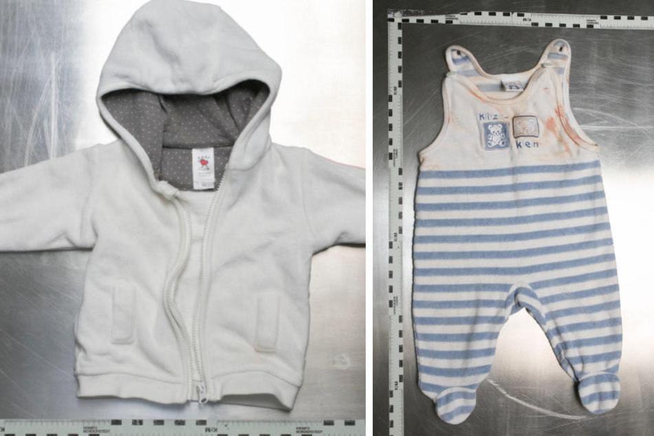 Diese Kleidung gehört zu dem Baby, das 2015 gefunden wurde.