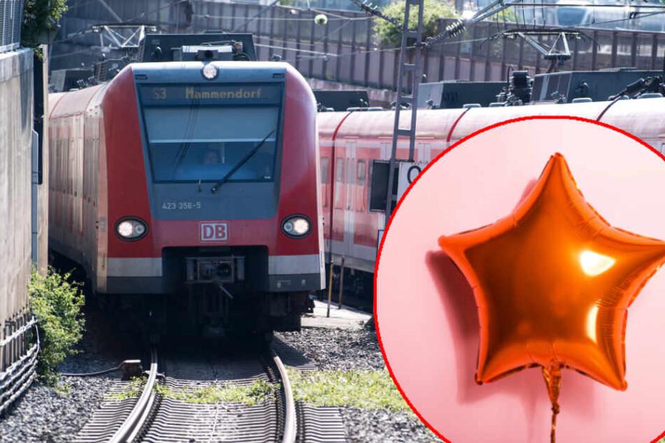 Diesmal war's ein Luftballon! Münchner S-Bahn-Chaos geht in die nächste Runde