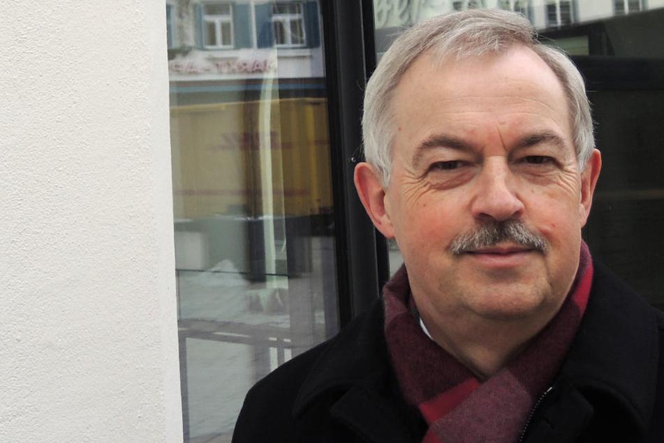 Volker Schindler setzt sich für ein partnerschaftliches Verhältnis zwischen Bürgern und Polizei ein.