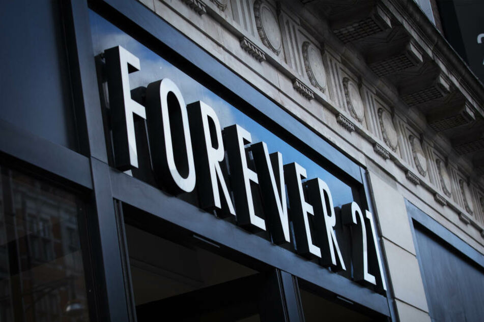 Eine Forever 21 Filiale in London.